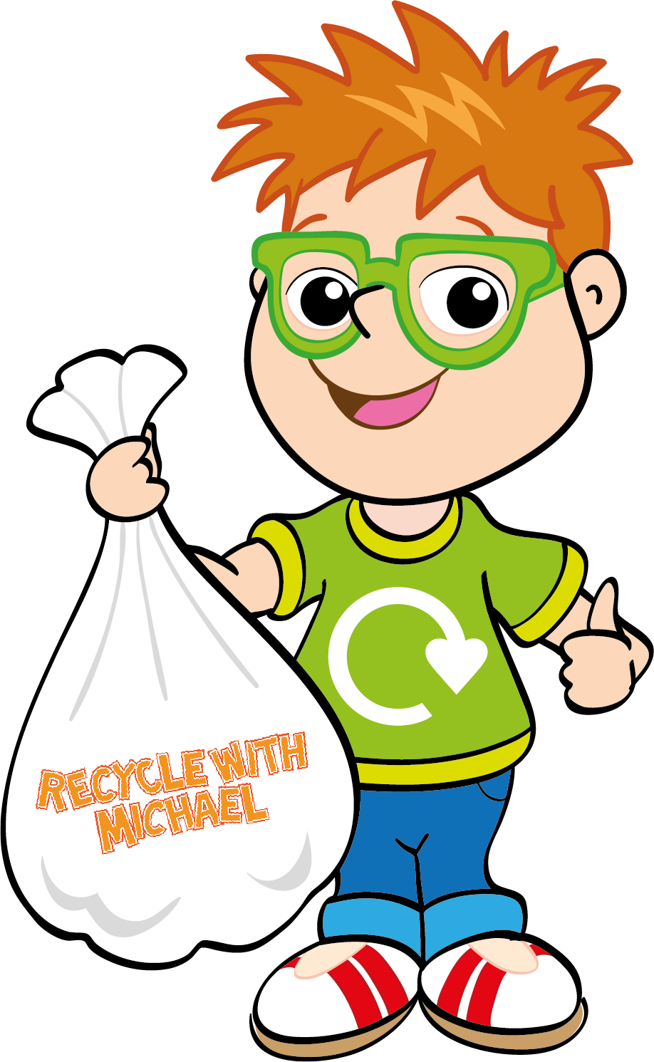 Image result for recycle with michael